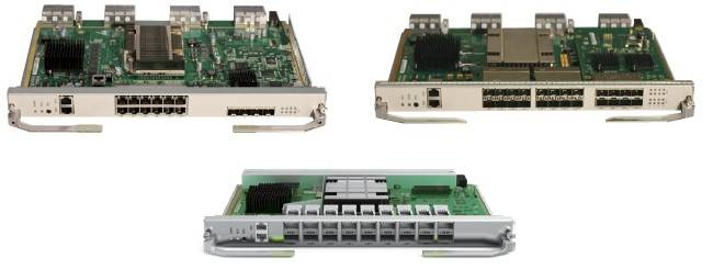 The CX series of switch modules for the E9000 enclosure