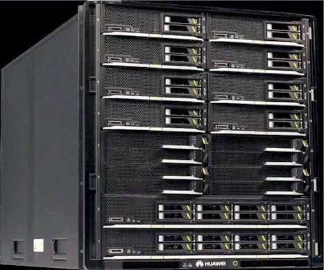 The Tecal E9000 modular system from Huawei