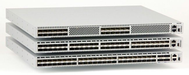 The Arista 7150S malleable 10GE/40GE switches