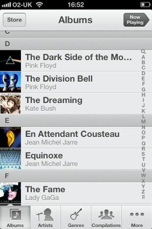 Apple iOS 6 Music
