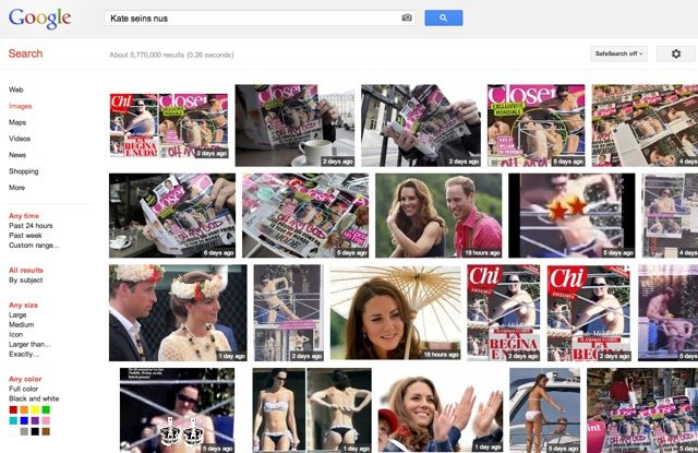 Kate on Google