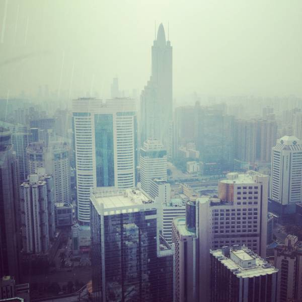 Shenzhen downtown