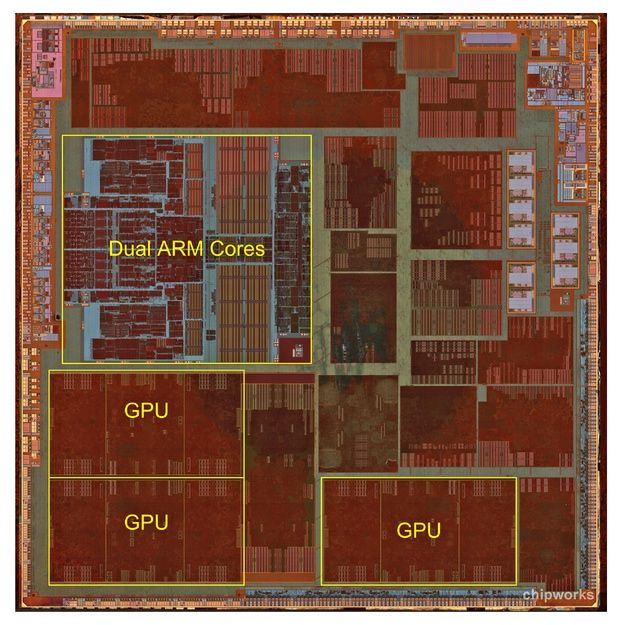 iFixit.com/Chipworks Apple A6
