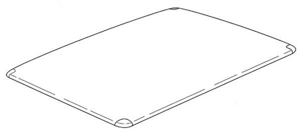 Image from Apple's carbon fiber case patent application