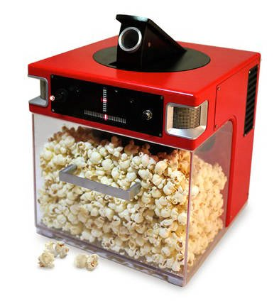 Popcorn Indiana's 'Popinator' popcorn-shooting robot