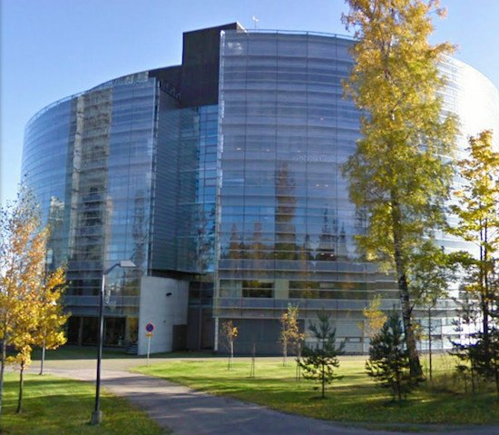 Nokia house, credit Google Street View