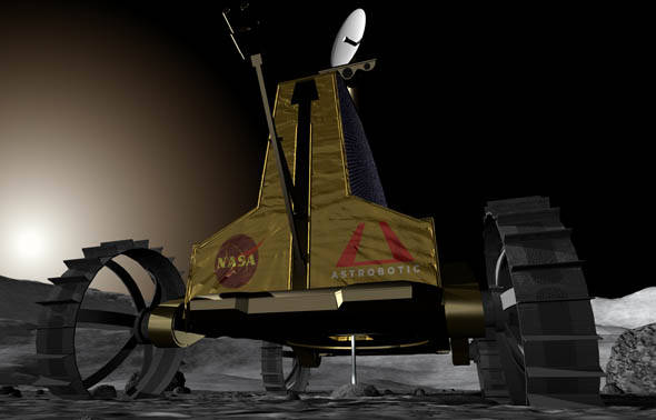 Astrobotic Technology's Polaris moon rover