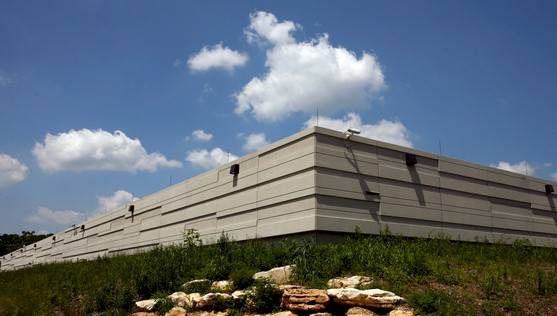 Indiana University's data center for Big Red II