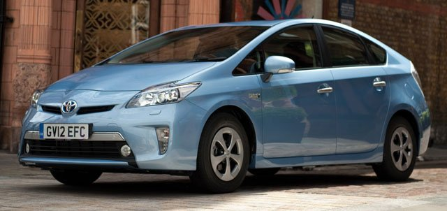 Toyota Prius Plug-in Hybrid car