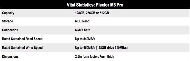 Plextor M5 Pro 256GB SSD PX-256M5P