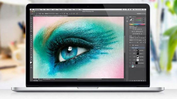 MacBook Pro with Retina Display  and pilfered photograph