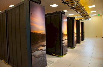 The Yellowstone super built by IBM for NCAR