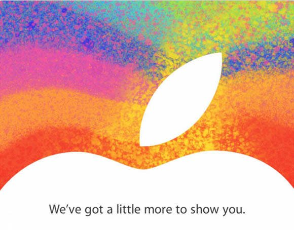 Invitation to Apple's October 23rd 'iPad mini' event