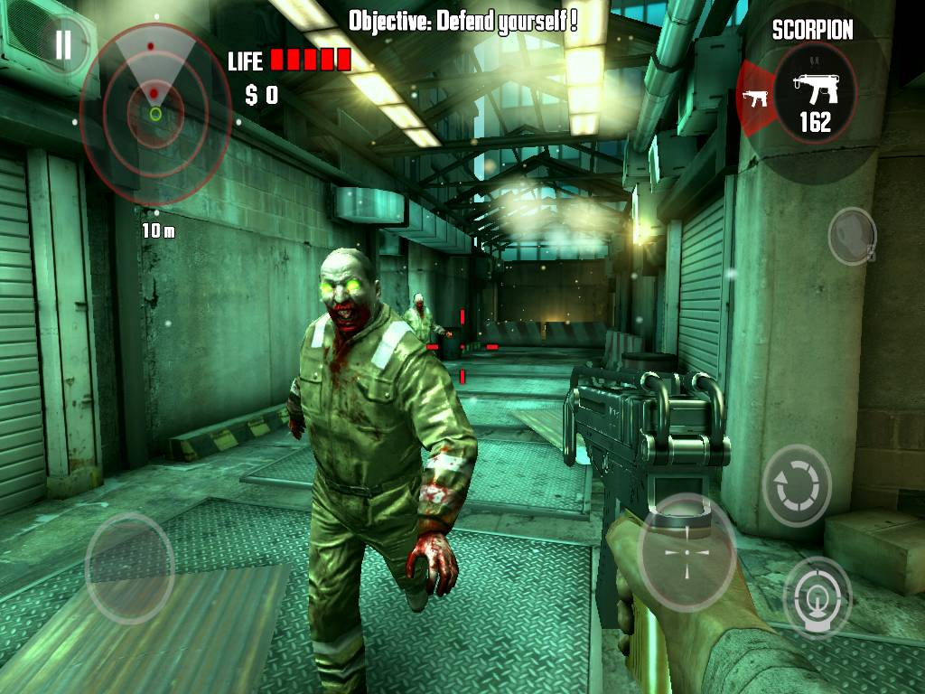 Dead Trigger on LG Vu
