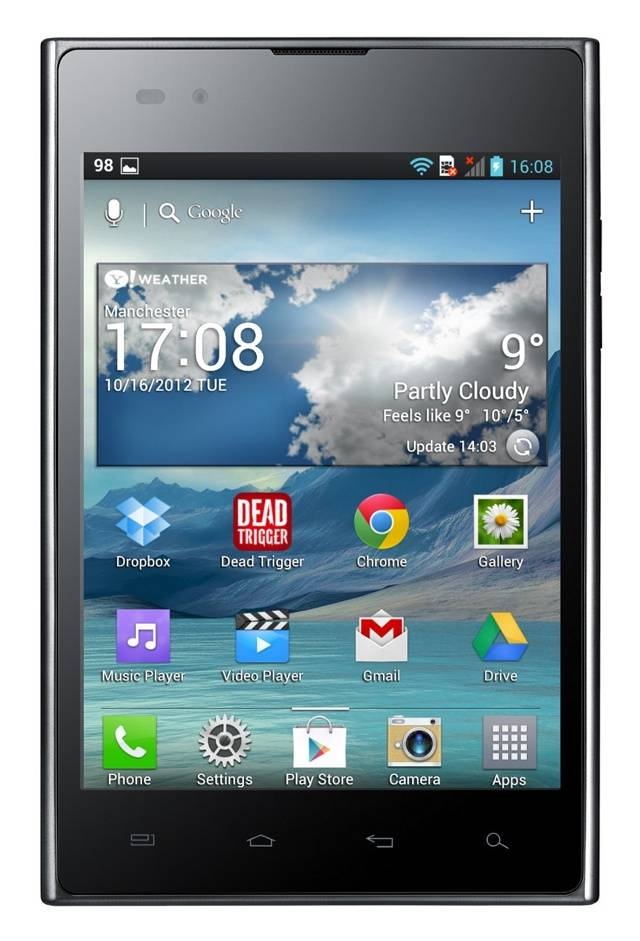 Lg Vu 5in Android Phone Tablet Review The Register