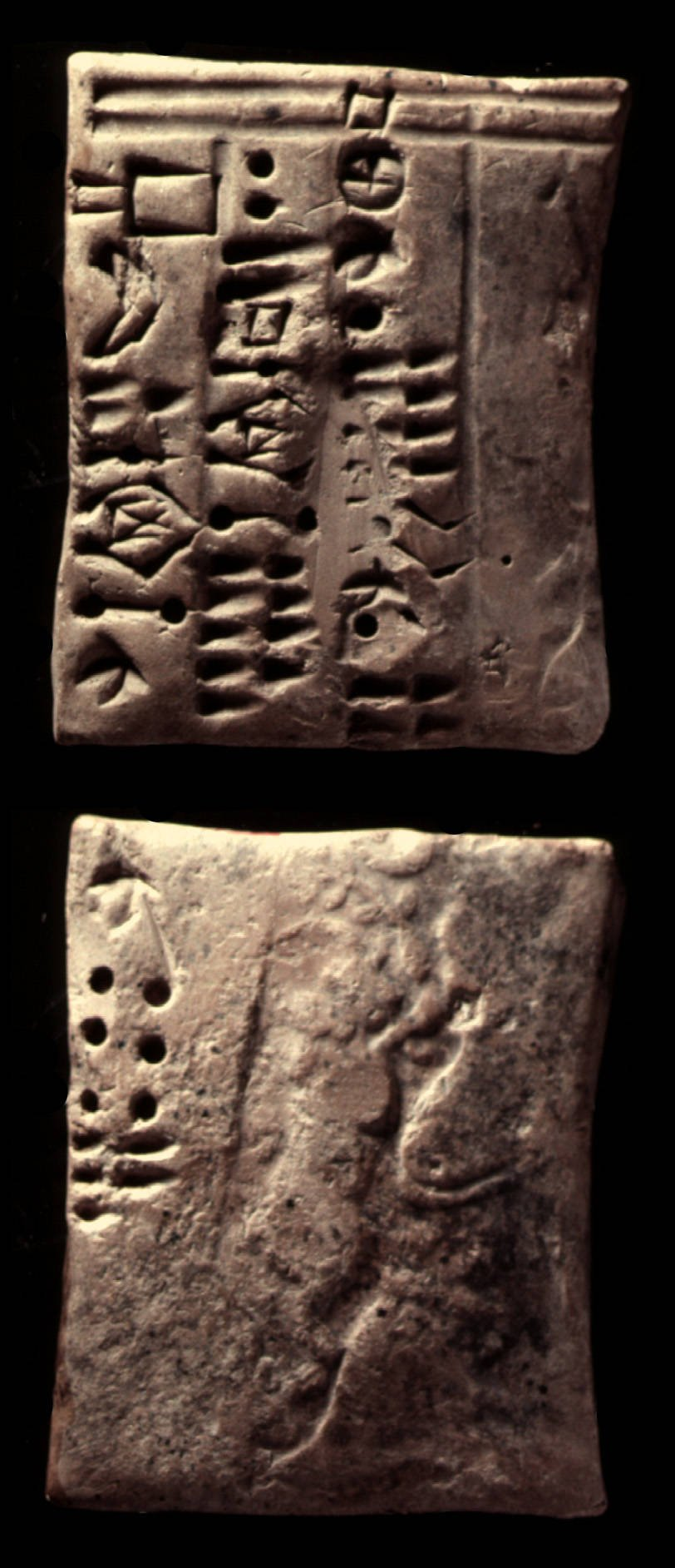A proto-Elamite tablet