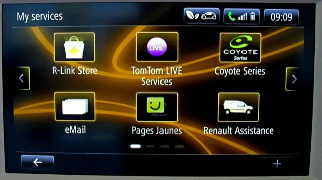 Renault Clio R-Link