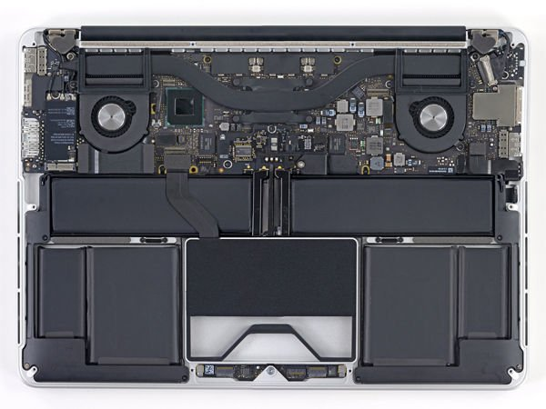 Inside the 13-inch MacBook Pro with Retina Display