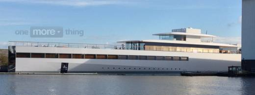 Steve Jobs yacht Venus