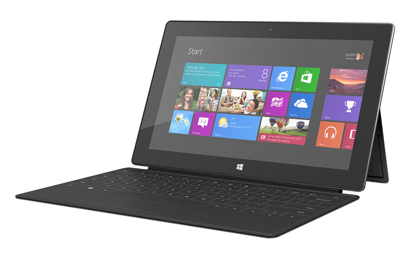 Microsoft Surface Tablet Windows 8