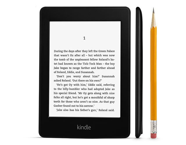 are you able to study books at the kindle fire
