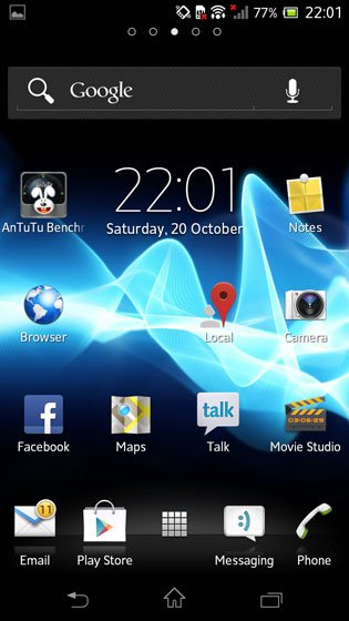 Sony Xperia T