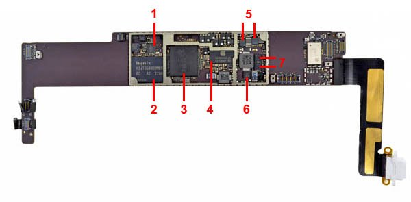 iPad mini logic board