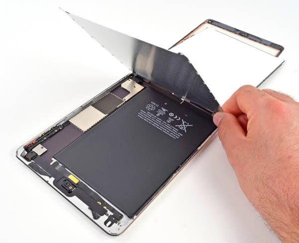 Inside the iPad mini