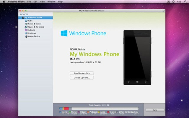 Windows Phone 3.0 for Mac