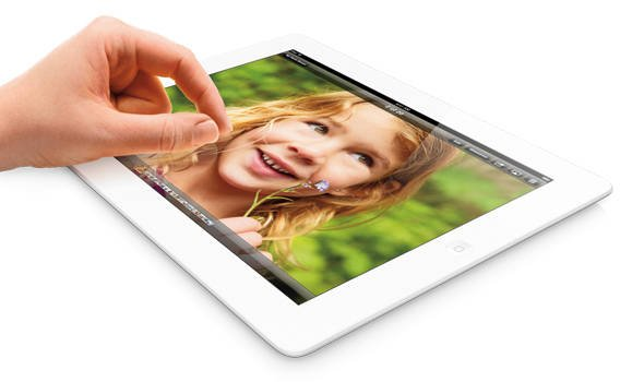 Fourth-generation iPad (image source: Apple)