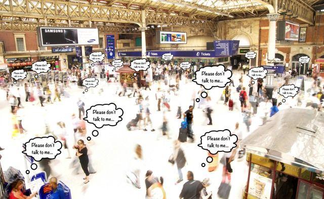 London Train Passengers