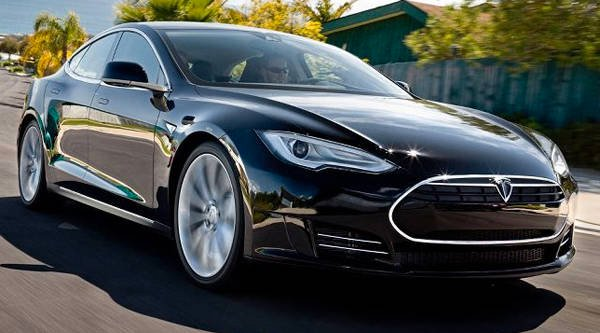 Tesla Model S sports sedan