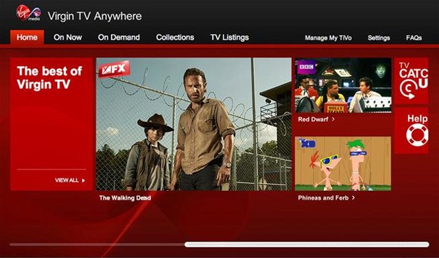 Virgin TV Anywhere