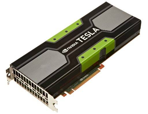 The Tesla K20 GPU coprocessor card
