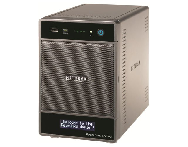 Netgear ReadyNAS NV+ V2 4-bay NAS drive