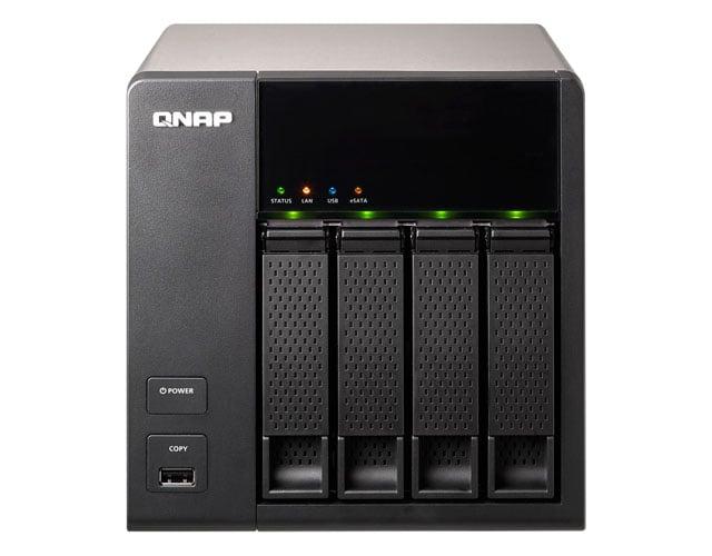 QNAP TS-412 4-bay NAS drive