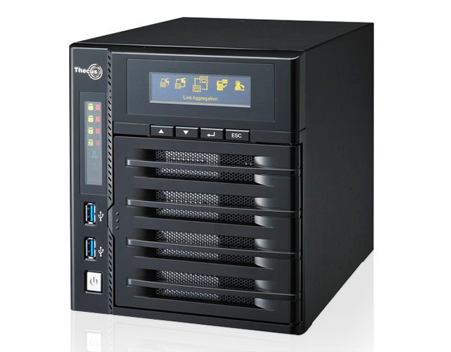 Thecus N4800 4-bay NAS drive