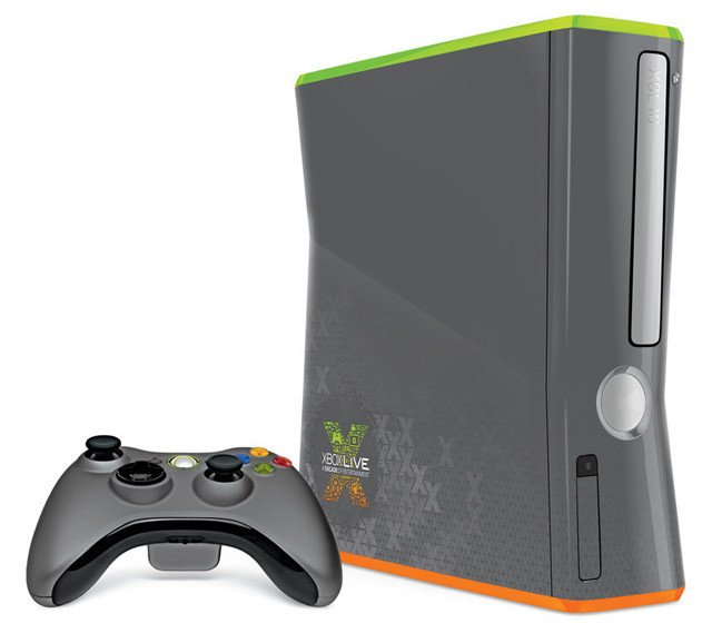 Xbox Live limited edition Xbox 360 c