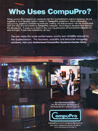 1983 CP/M Computing – CompuPro ad
