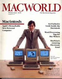 1984 Macworld Premier issue - cover