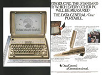 January 1985 PCWorld &amp;amp;ndash; Data General/One ad