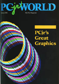 January 1985 PCWorld  PCjr section opener