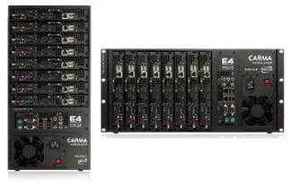 The Carma cluster can be a 5U racker or a tower box