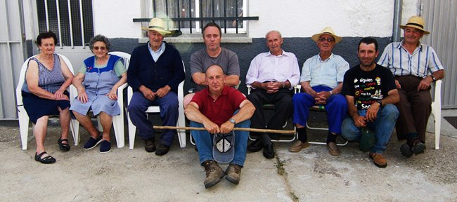 Me and some of the inhabitants of Los Narros