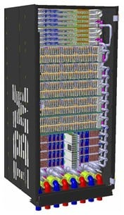 The Power 775 GPFS storage server, rendered