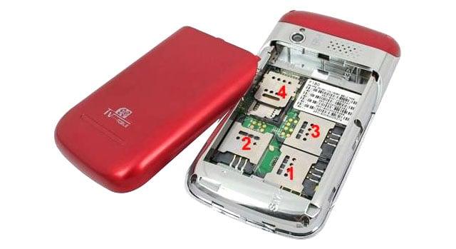 Babiken C8 quad SIM phone