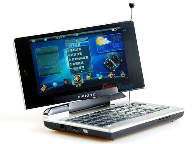 Bphone TV notebook handset