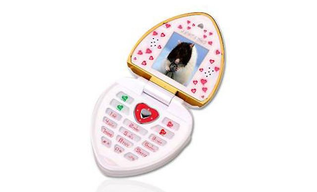 Jinpeng A1308 love heart handset