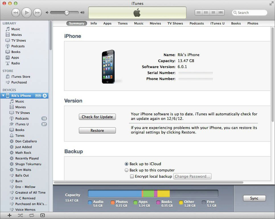 Itunes returns to an earlier interface