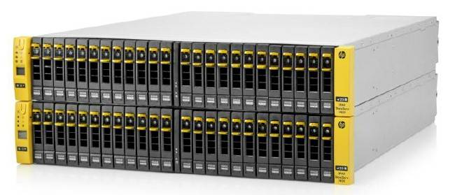 The HP 3PAR StoreServ 7400 array